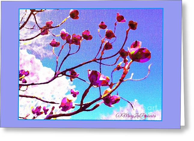 My  Favorite  Season Greeting Card by MaryLee Parker