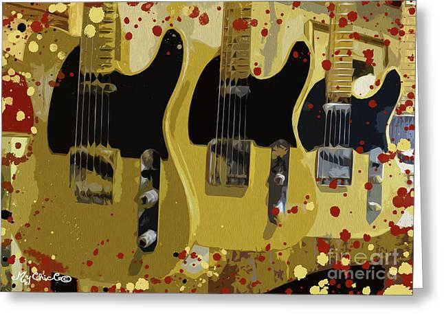 My Fender Telecaster Greeting Card