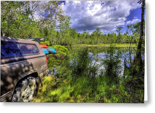My Florida Getaway  Greeting Card by JC Findley