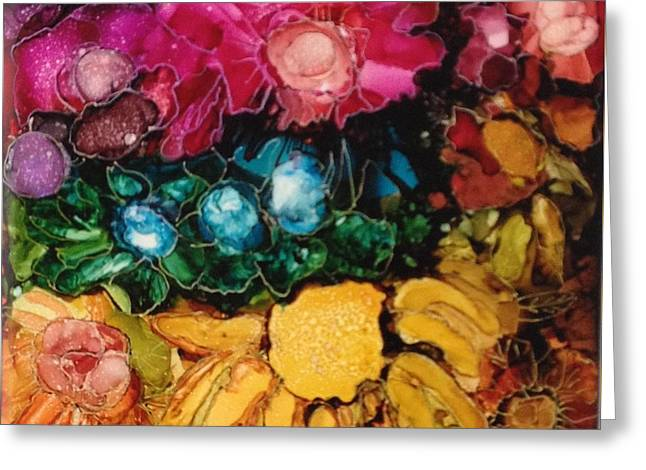My Flower Garden Greeting Card