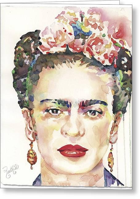 My Frida Greeting Card