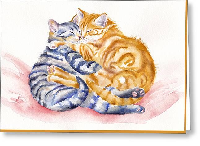 My Furry Valentine Greeting Card