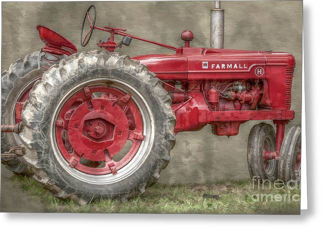 My Grandfathers Tractor Greeting Card