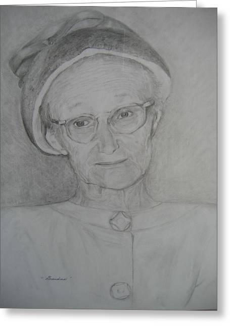 My Grandma Greeting Card by Marlene Robbins