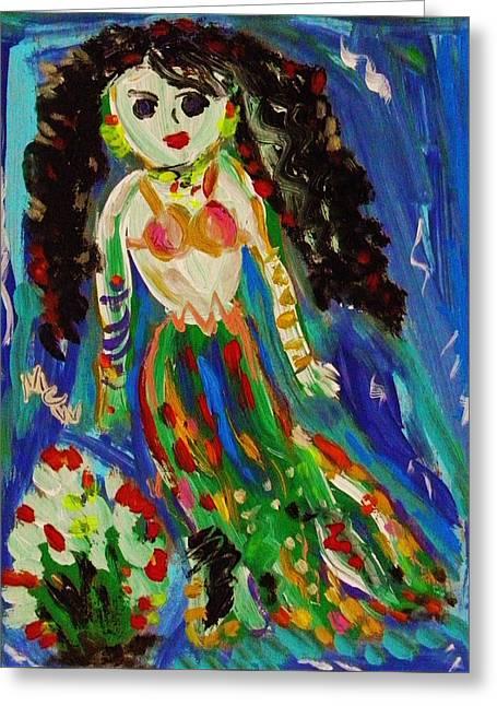 My Gypsy Mermaid Greeting Card
