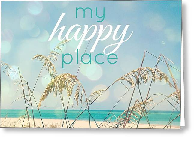 My Happy Place Greeting Card by Valerie Reeves