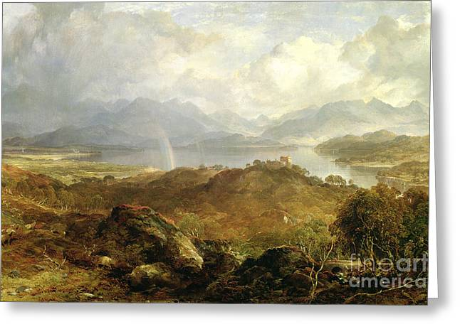 My Heart's In The Highlands, 1860 Greeting Card