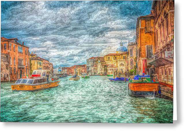 My Italy Greeting Card by Mark Taylor