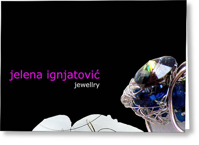 My Jewelry   Greeting Card by Jelena Ignjatovic