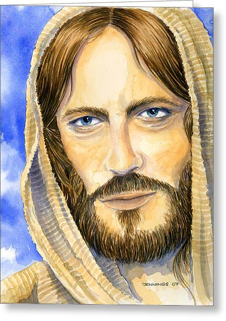 my Lord Greeting Card by Mark Jennings