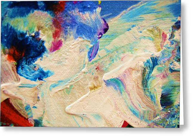 My Love For Art Greeting Card by HollyWood Creation By linda zanini