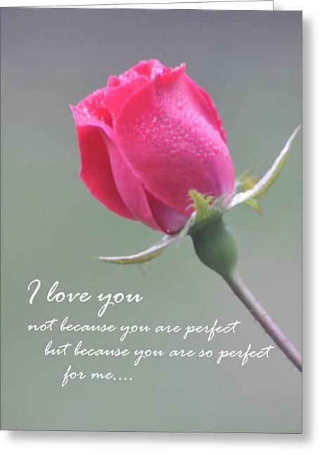 My Love Greeting Card by Gerlinde Keating - Galleria GK Keating Associates Inc