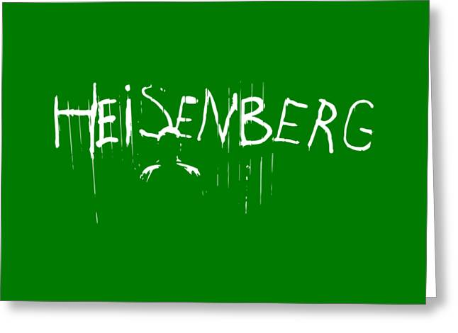 My Name Is Heisenberg - Graffiti Spray Paint Breaking Bad - Walter White - Breaking Bad - Amc Greeting Card