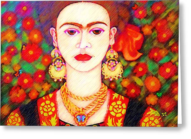 My Other Frida Kahlo Greeting Card