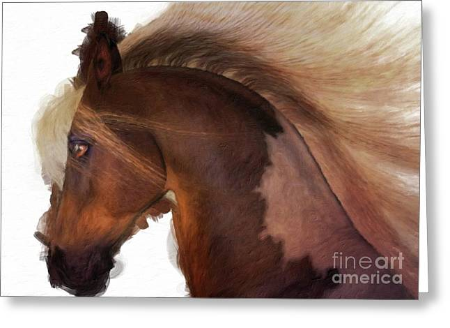My Strength By Mary Bassett Greeting Card