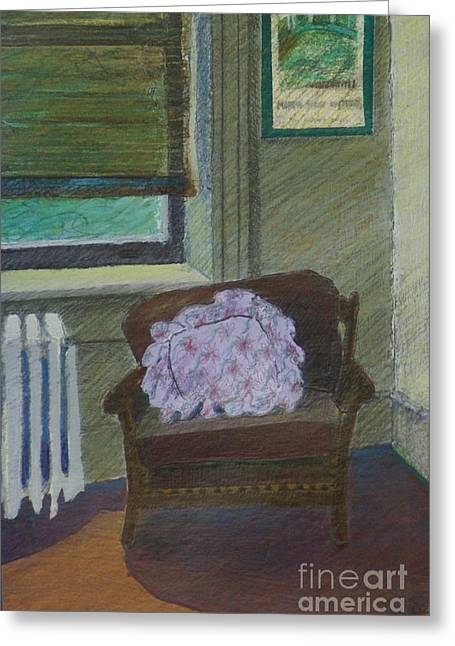 My Student Apartment Greeting Card by Suzn Art Memorial