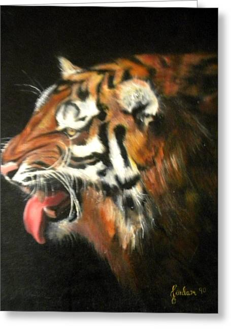 My Tiger - The Year Of The Tiger Greeting Card