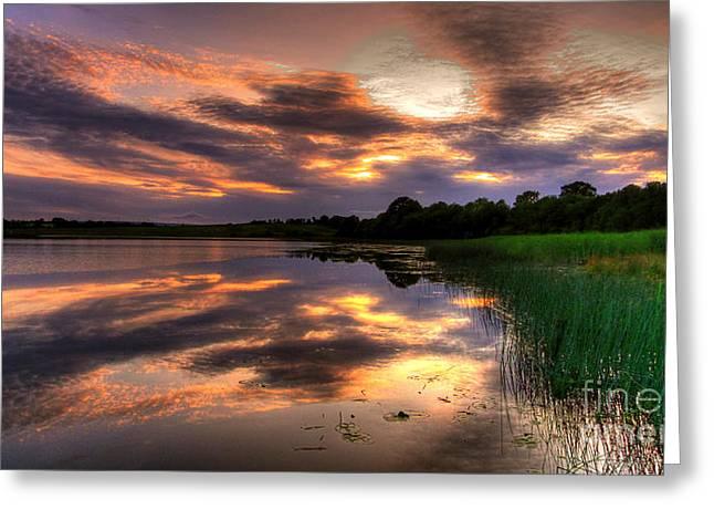 My Tranquil Mind Greeting Card by Kim Shatwell-Irishphotographer