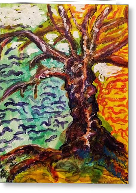 My Treefriend Greeting Card by Mimulux patricia no No
