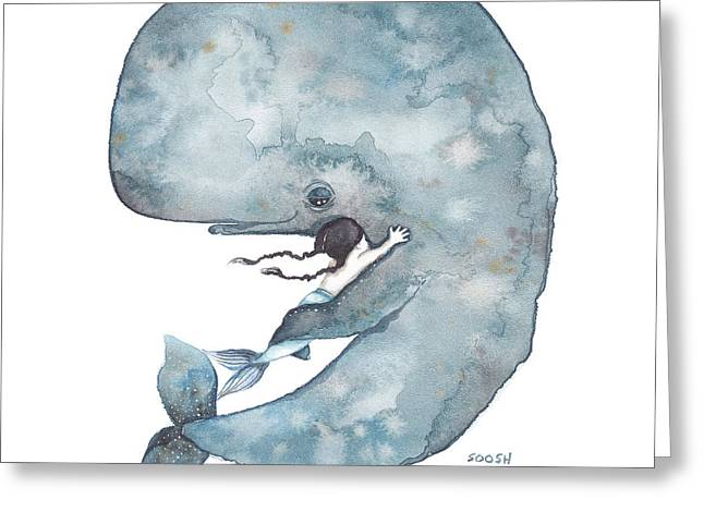 My Whale Greeting Card