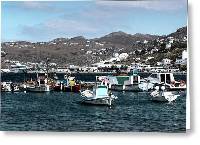 Greeting Card featuring the photograph Mykonos Greece II by Tom Prendergast