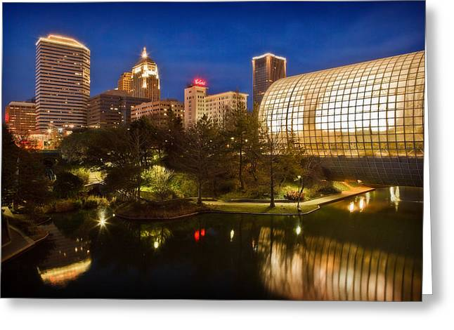 Myriad Gardens Greeting Card