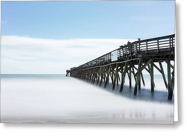Myrtle Beach State Park Pier Greeting Card by Ivo Kerssemakers