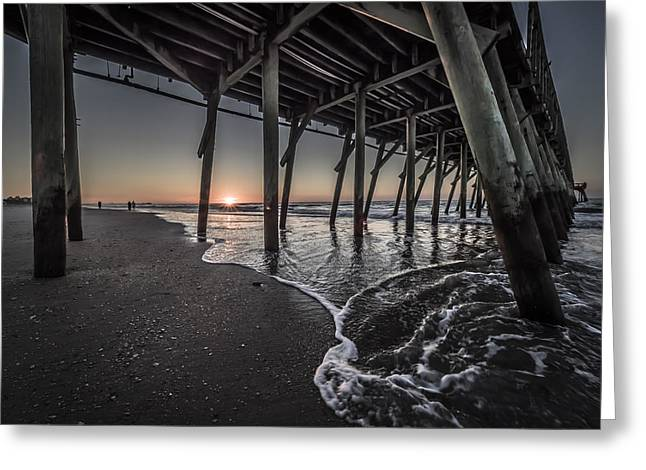 Myrtle Beach Sunrise I Greeting Card