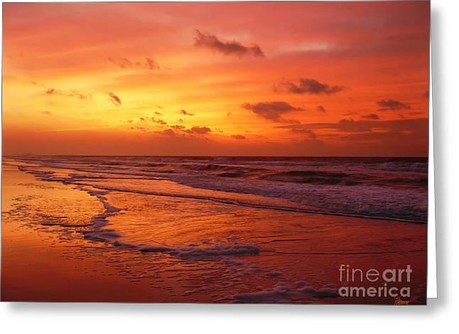 Myrtle Beach Sunrise II Greeting Card
