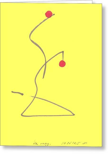 Myself. 10 June , 2015. Greeting Card by Tatiana Chernyavskaya