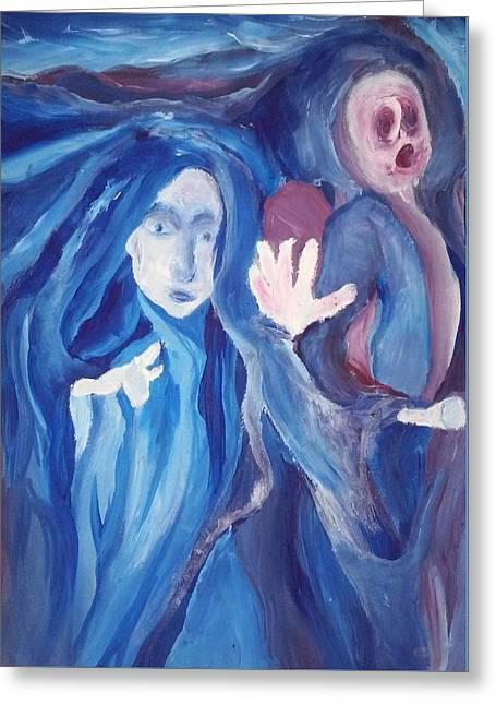Mysteria Greeting Card by Sarah Ellis