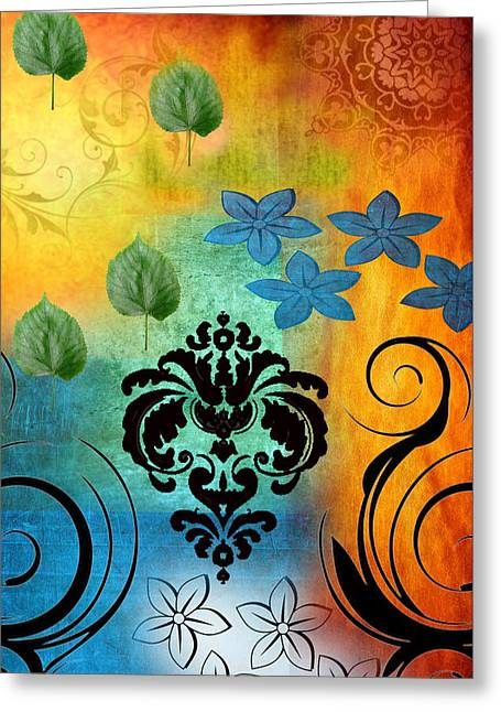 Mysteries Of The Origin Greeting Card by Art Spectrum