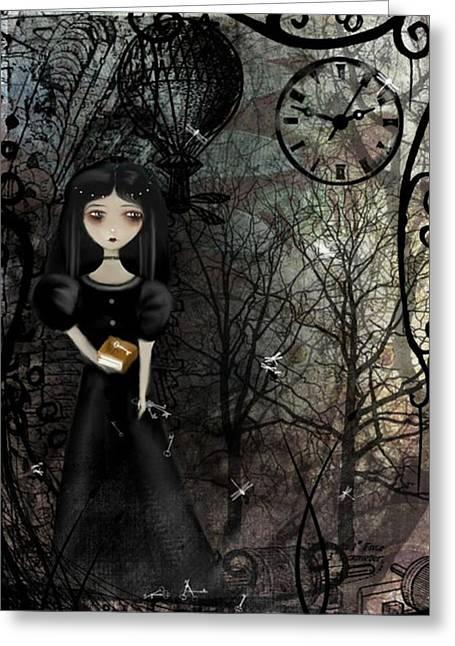 Mysterious Kingdom Greeting Card by Charlene Zatloukal