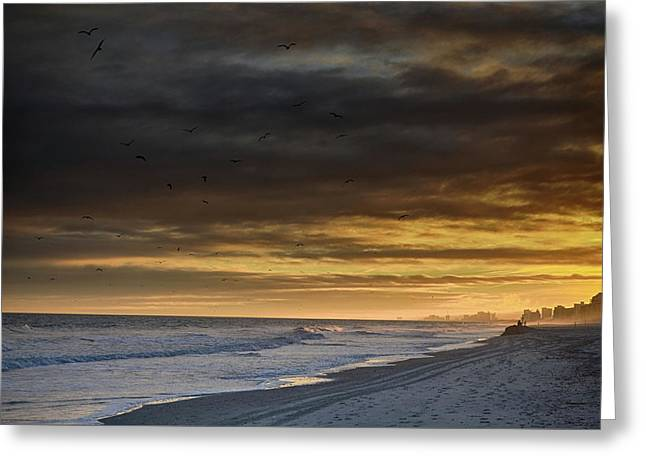 Greeting Card featuring the photograph Mysterious Myrtle Beach by Kelly Reber