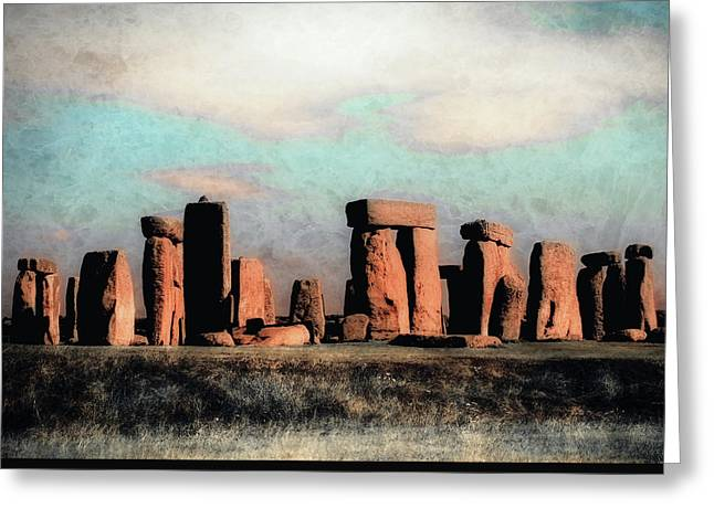 Mysterious Stonehenge Greeting Card by Jim Hill