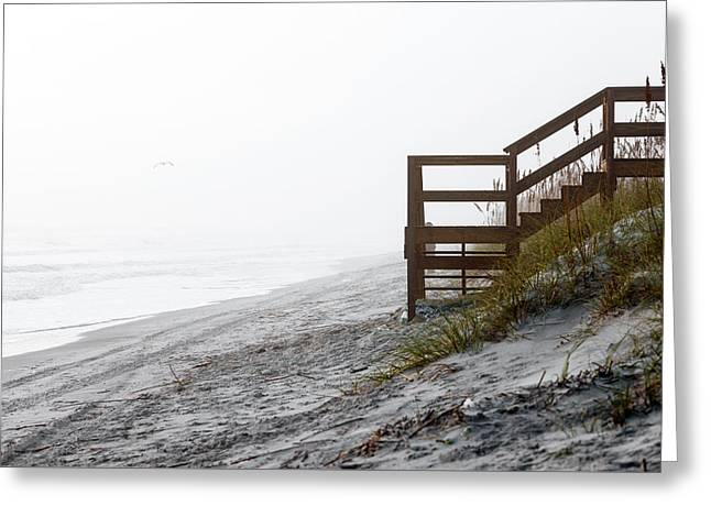 Greeting Card featuring the photograph Mystery Beach by Anthony Baatz