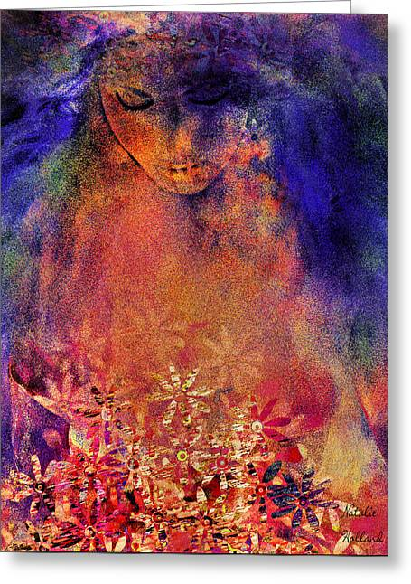 Mystic Dream Greeting Card by Natalie Holland