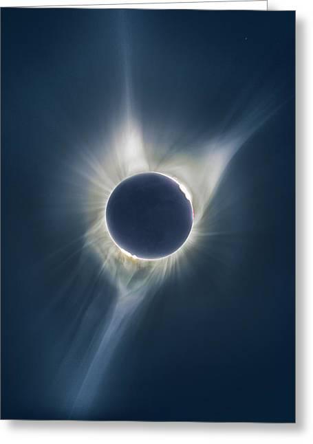 Mystic Eclipse  Greeting Card