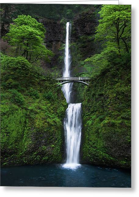 Mystic Falls Greeting Card by Larry Marshall