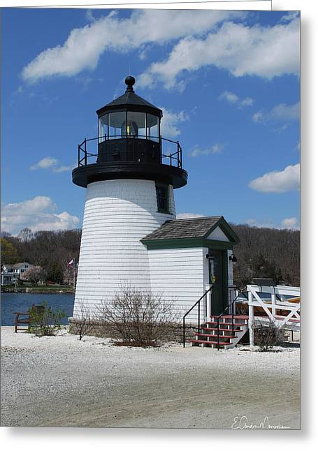 Mystic Lighthouse Greeting Card