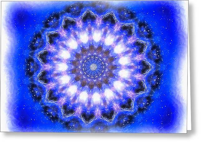 Mystic Mandala Greeting Card