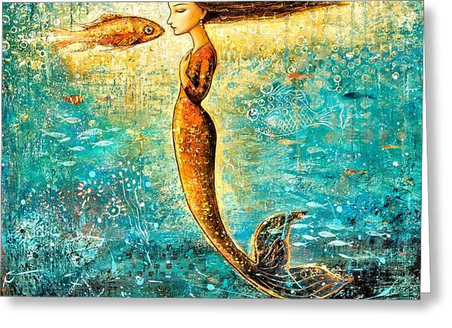Mystic Mermaid Iv Greeting Card