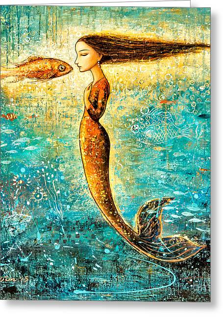 Mystic Mermaid Iv Greeting Card