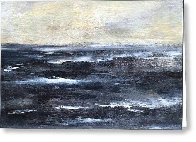 Mystic Sea Greeting Card by Judy Jacobs