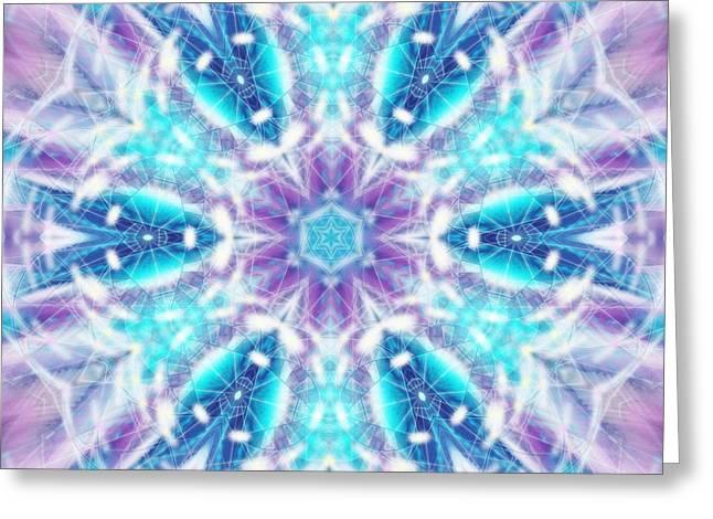 Greeting Card featuring the digital art Mystic Universe 1 Kk2 by Derek Gedney
