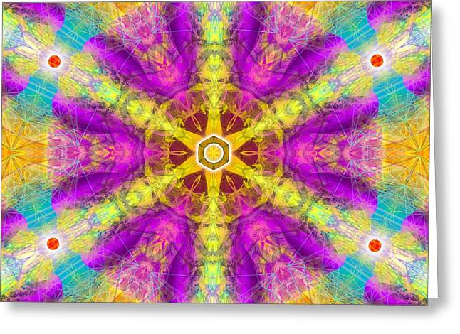 Greeting Card featuring the digital art Mystic Universe 11 Kk2 by Derek Gedney