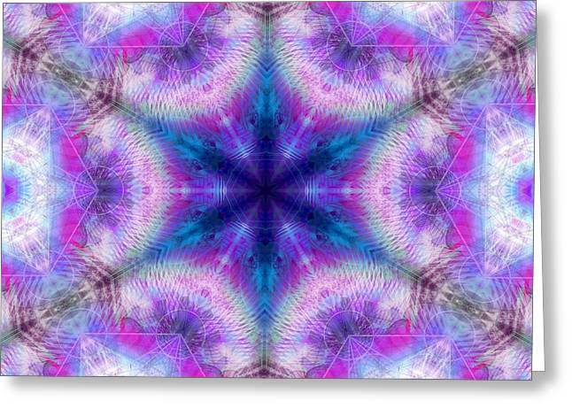 Greeting Card featuring the digital art Mystic Universe 5 Kk2 by Derek Gedney