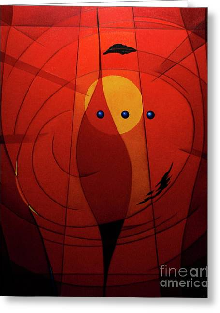 Mystical Composition Greeting Card by Alberto DAssumpcao