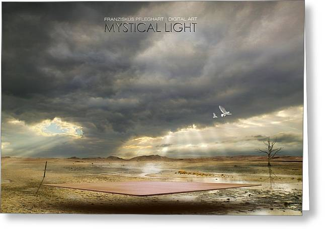 Mystical Light Greeting Card