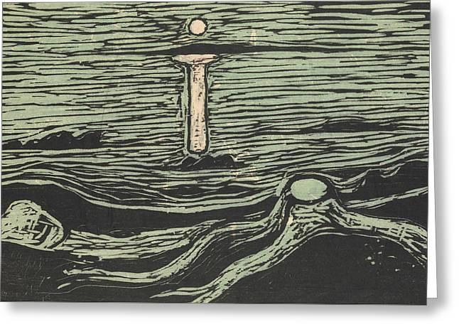 Mystical Shore Greeting Card